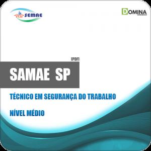 Apostila SEMAE Piracicaba SP 2019 Tec Segurança Trabalho