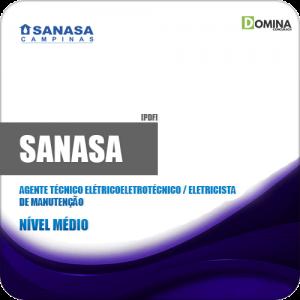 Apostila SANASA SP 2019 Técnico Eletricista de Manutenção