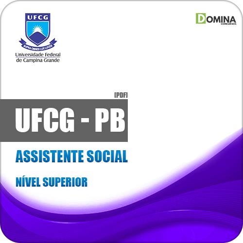 Apostila Concurso UFCG PB 2019 Assistente Social