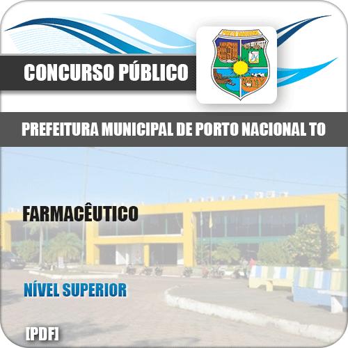 Apostila Concurso Pref Porto Nacional TO 2019 Farmacêutico