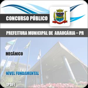 Apostila Concurso Pref de Araucária PR 2019 Mecânico