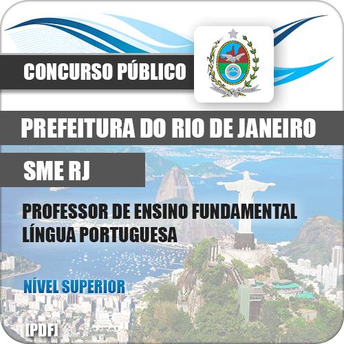 Apostila SME RIO 2019 Prof Ensino Fundamental Língua Portuguesa