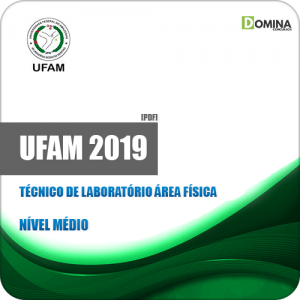 Apostila UFAM 2019 Técnico de Laboratório Área Física