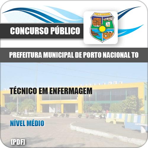 Apostila Pref Porto Nacional TO 2019 Técnico em Enfermagem