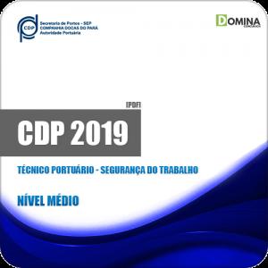 Apostila CDP do Pará 2019 Tec Portuário Segurança Trabalho
