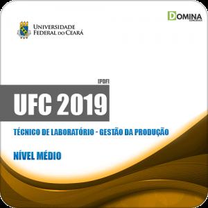 Apostila UFC 2019 Técnico de Laboratório Gestão da Produção