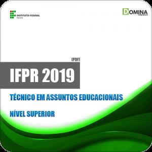 Apostila IFPR 2019 Técnico em Assuntos Educacionais
