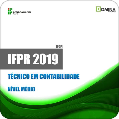 Apostila Concurso IFPR 2019 Técnico em Contabilidade