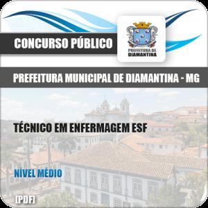 Apostila Pref Diamantina MG 2019 Técnico em Enfermagem ESF