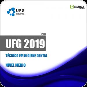 Apostila Concurso UFG 2019 Técnico em Higiene Dental