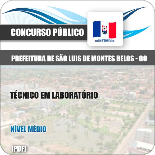 Apostila São Luis Montes Belos GO 2019 Técnico Laboratório