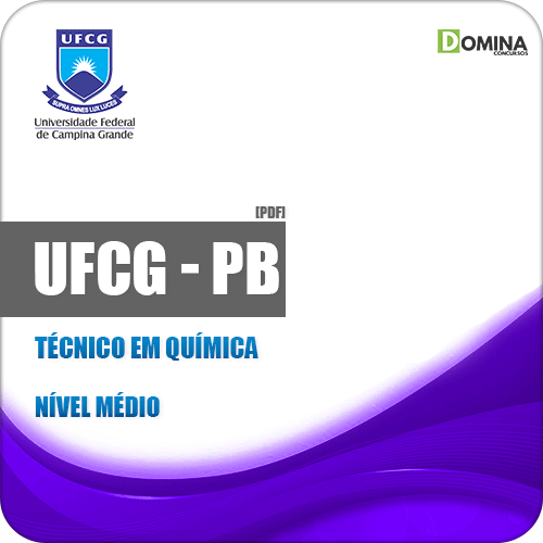 Apostila Concurso UFCG PB 2019 Técnico em Química