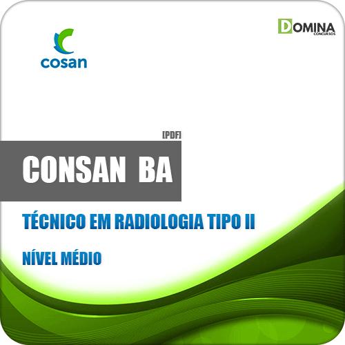 Apostila CONSAN BA 2019 Técnico em Radiologia Tipo II