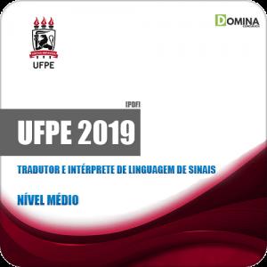 Apostila UFPE 2019 Tradutor e Intérprete Linguagem Sinais