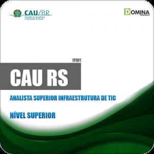 Apostila CAU RS 2019 Analista Superior Infraestrutura de TIC