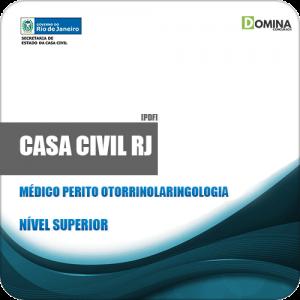 Apostila Casa Civil RJ 2019 Médico Perito Otorrinolaringologia