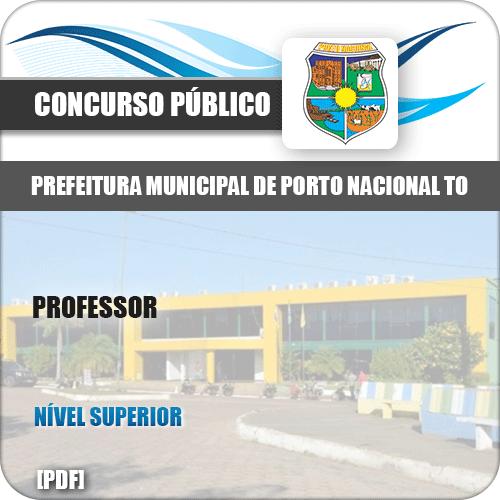 Apostila Concurso Pref Porto Nacional TO 2019 Professor