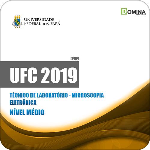 Apostila UFC 2019 Técnico de Laboratório Microscopia Eletrônica