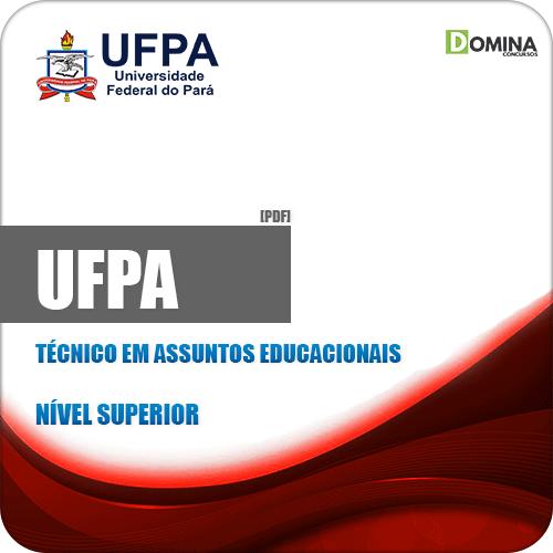 Apostila Concurso UFPA 2019 Técnico em Assuntos Educacionais