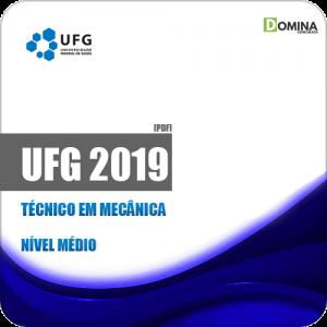 Apostila Concurso Público UFG 2019 Técnico em Mecânica