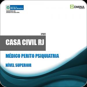 Apostila Casa Civil RJ 2019 Médico Perito Psiquiatria