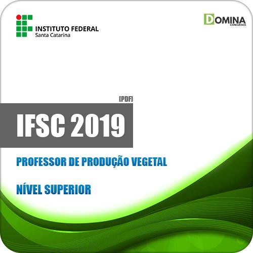 Apostila Concurso IFSC 2019 Professor de Produção Vegetal