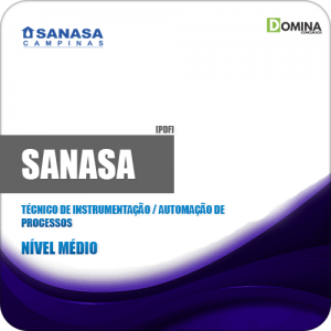 Apostila SANASA SP 2019 Tec Instrumentação Automação Processos