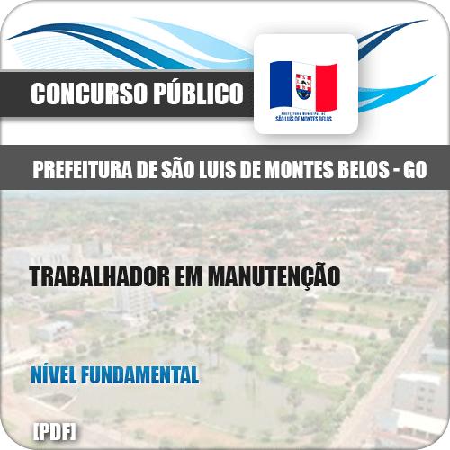 Apostila São Luis Montes Belos GO 2019 Trabalhador Manutenção