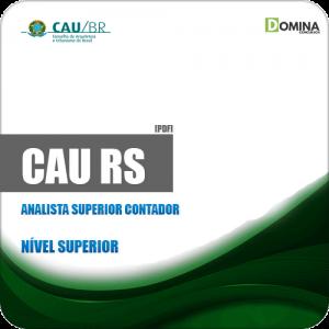 Apostila Concurso CAU RS 2019 Analista Superior Contador