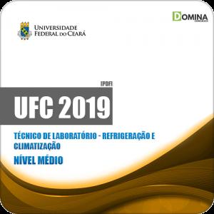 Apostila UFC 2019 Técnico Laboratório Refrigeração Climatização