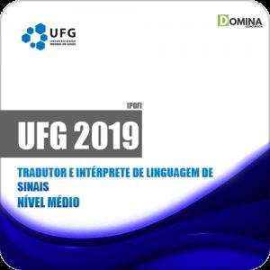 Apostila UFG 2019 Tradutor e Intérprete de Linguagem de Sinais
