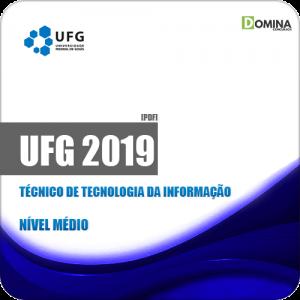 Apostila UFG 2019 Técnico de Tecnologia da Informação