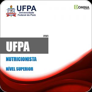 Apostila Concurso UFPA 2019 Nutricionista
