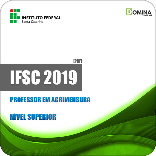 Apostila Concurso IFSC 2019 Professor em Agrimensura