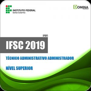 Apostila IFSC 2019 Técnico Administrativo Administrador