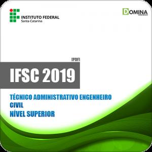 Apostila IFSC 2019 Técnico Administrativo Engenheiro Civil