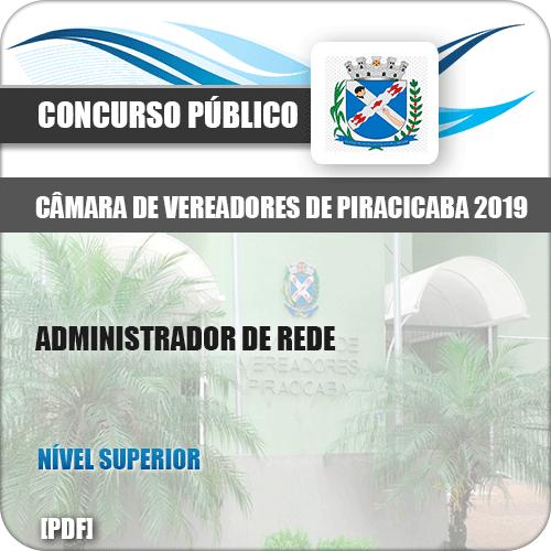 Apostila Câmara Piracicaba SP 2019 Administrador de Rede