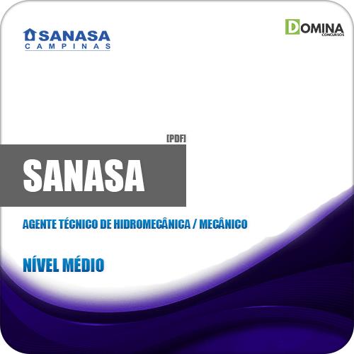 Apostila SANASA SP 2019 Agt Técnico Hidromecânica Mecânico