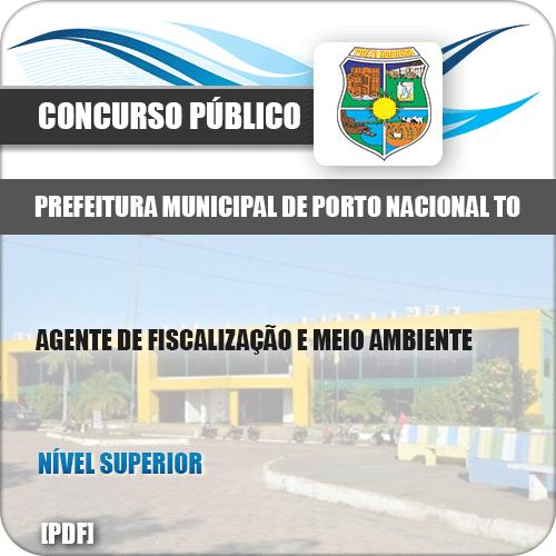 Apostila Porto Nacional TO 2019 Agt Fiscalização Meio Ambiente