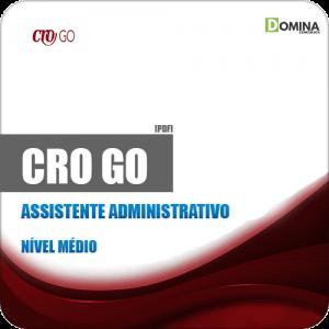 Apostila Concurso CRO GO 2019 Assistente Administrativo
