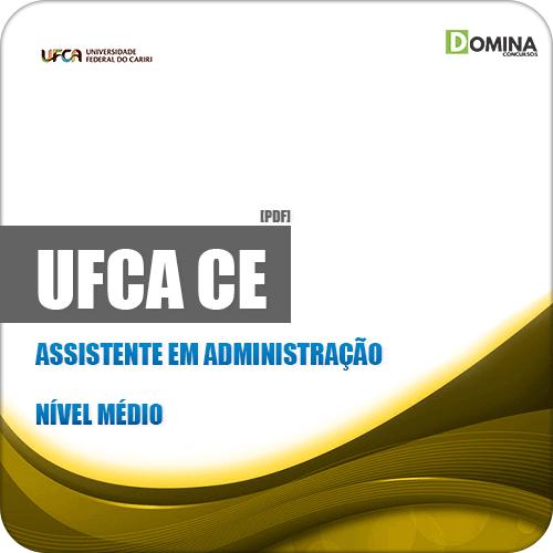 Apostila Concurso UFCA 2019 Assistente em Administração