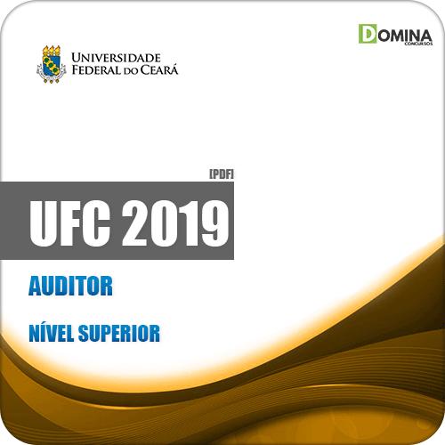 Apostila Concurso Público UFC 2019 Auditor