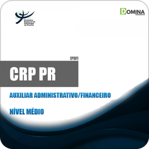 Apostila CRP PR 2019 Auxiliar Administrativo Financeiro