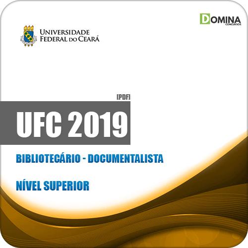 Apostila Concurso Público UFC 2019 Bibliotecário Documentalista