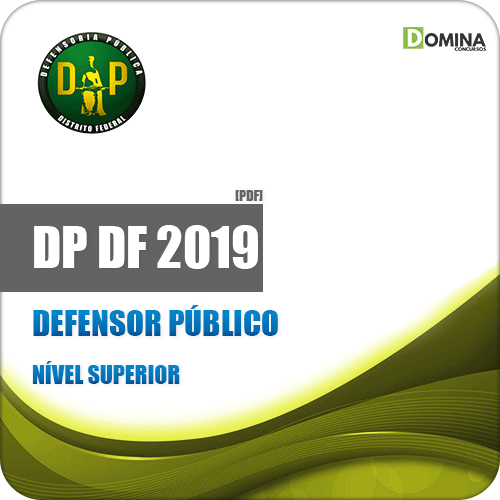 Apostila Concurso DPDF 2019 Defensor Público