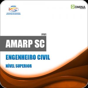 Apostila Processo Seletivo AMARP SC 2019 Engenheiro Civil
