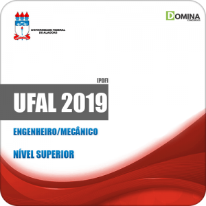 Apostila Concurso Público UFAL 2019 Engenheiro Mecânico