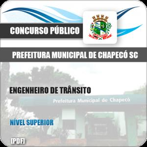 Apostila Pref Chapecó SC 2019 Engenheiro de Trânsito