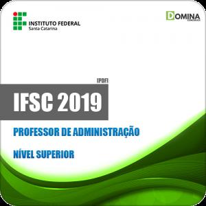 Apostila Concurso IFSC 2019 Professor de Administração