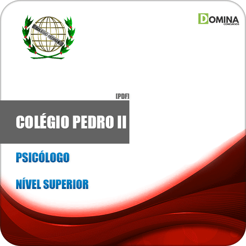 Apostila Concurso Colégio Pedro II RJ 2019 Psicólogo